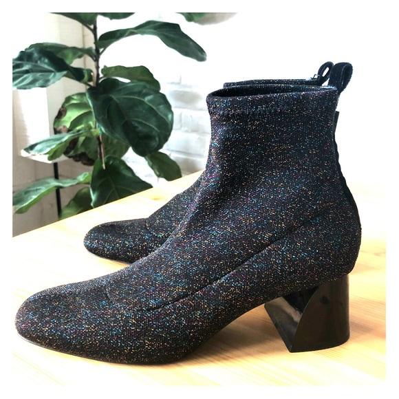 9e1f047a3da NWT Sparkle Sock Boots